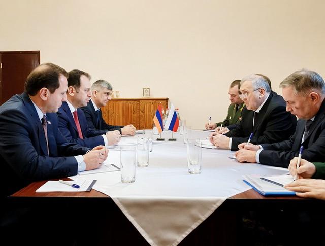 Рабочая поездка первого замминистра обороны РФ Руслана Цаликова в Армению