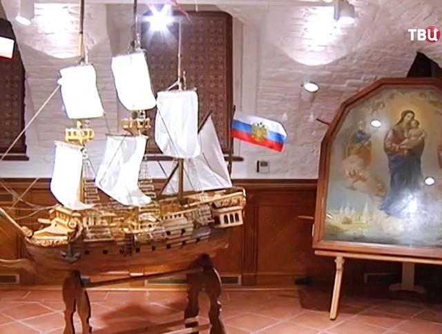 Выставка к 350-летию отечественного кораблестроения
