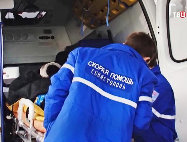 Врачи скорой помощи Севастополя
