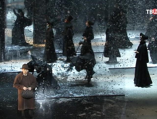 """Сцена из оперы """"Идиот"""""""