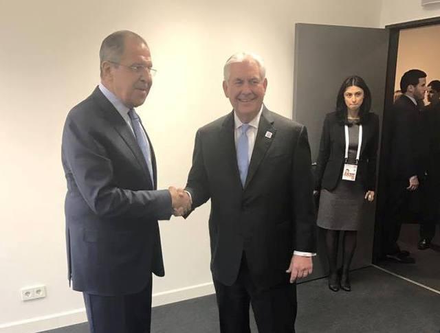 Сергей Лавров и Рекс Тиллерсон