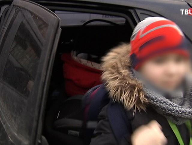 Рейд по перевозке детей в машинах