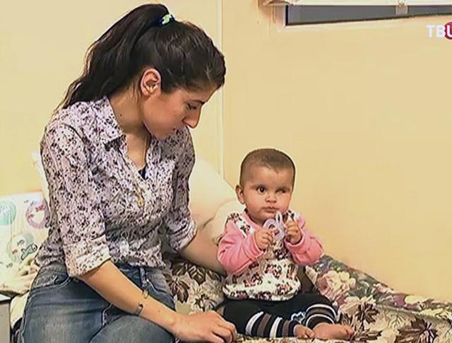 Мария Махмуд  и ее мама