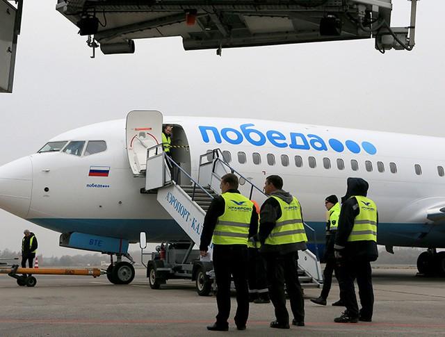 """Самолет авиакомпании """"Победа"""""""