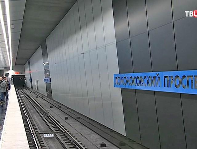 "Станция метро ""Ломоносовский проспект"""
