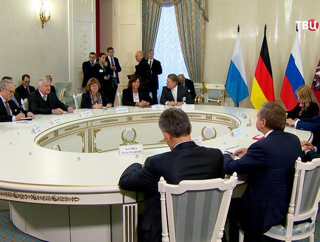Встреча с премьер-министром Баварии Хорстом Зеехофером