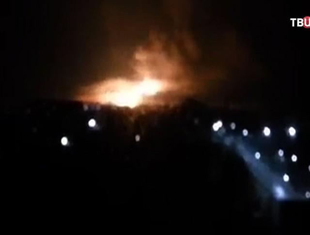 Пожар в Харькове