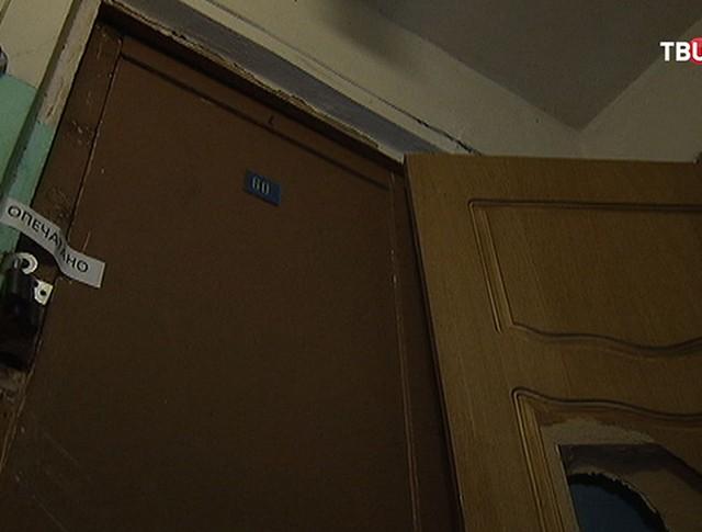 Квартира избитой женщины в Королеве