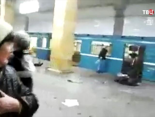 """Взрыв на станции """"Парк культуры"""", 2010 год"""