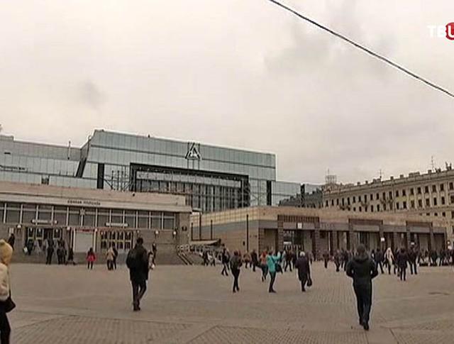 """Станция метро """"Сенная площадь"""" в Санкт-Петербурге"""