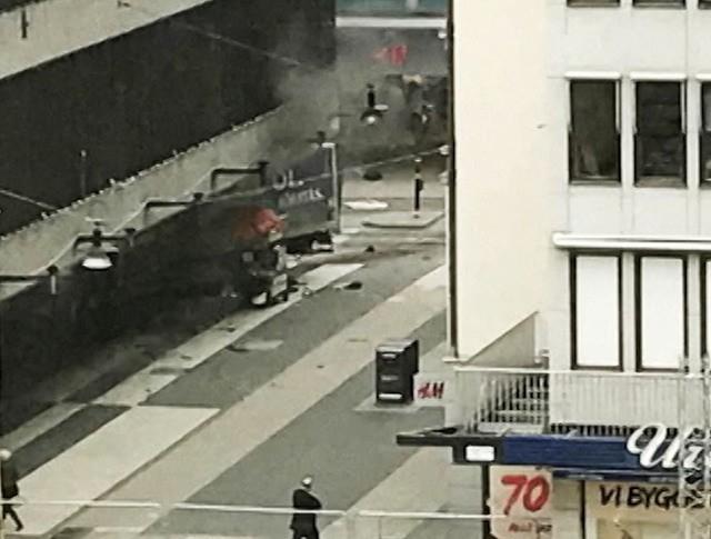 Теракт в Швеции