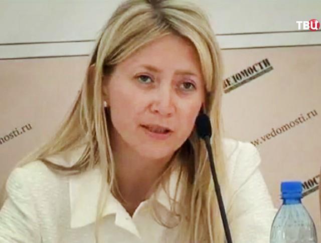 Жанна Булах, жена экс-главы Минфина Подмосковья Алексея Кузнецова