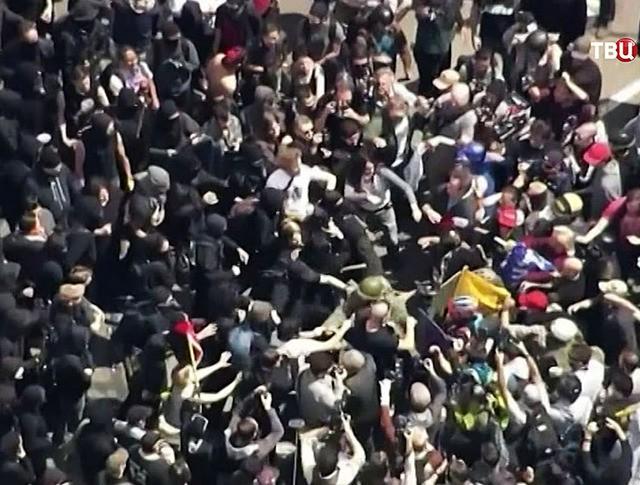 Уличные беспорядки в США