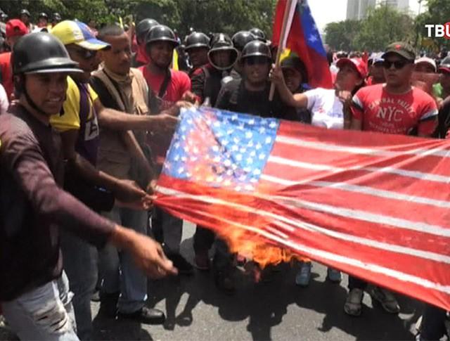 Акции протеста в Венесуэле