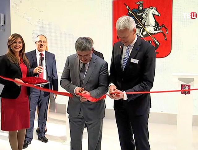Московский стенд открылся на промышленной выставке в Ганновере
