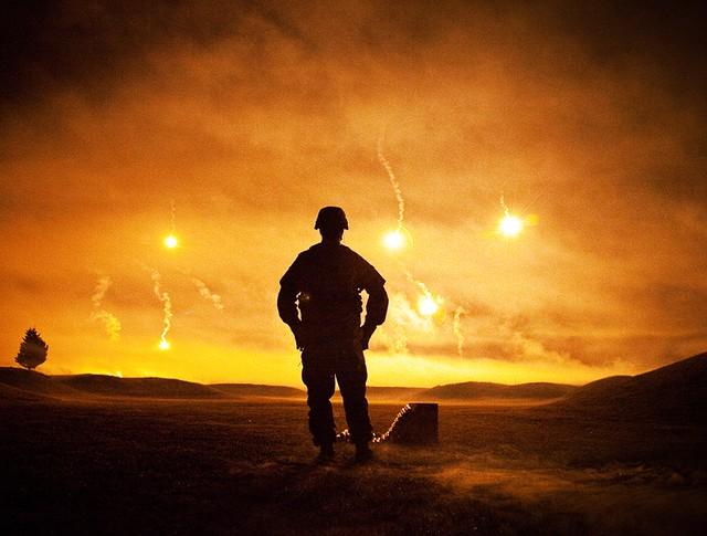 Военнослужащие армии США проводят испытания
