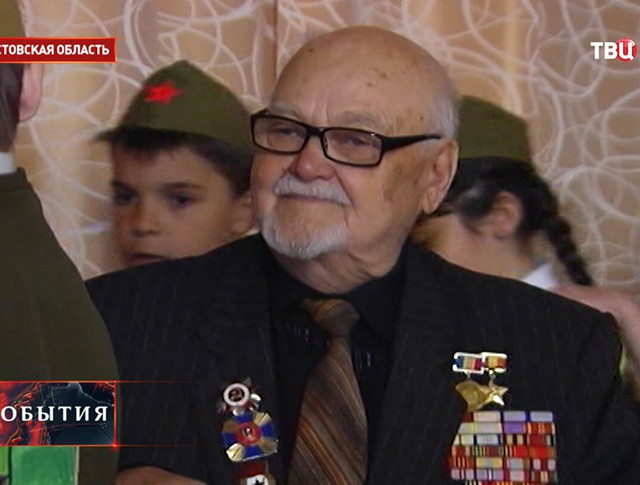 Ветеран Великой Отечественной войны Михаил Петрович Шатов