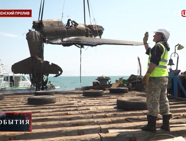 Истребитель Р-40 времен Великой Отечественной войны