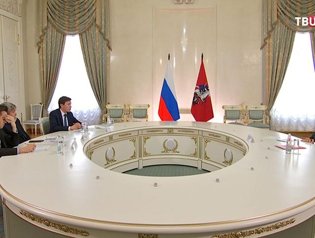 Сергей Собянин встречается с членами Общественной палаты