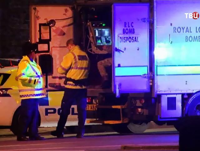 Взрывотехникеская лаборатория полиции Великобритании
