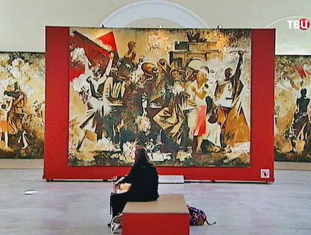 Выставка монументальной живописи советского периода в Санкт-Петербурге