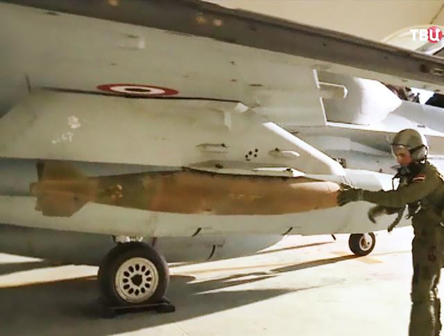 боевое оснащение истребителя ВВС Египта