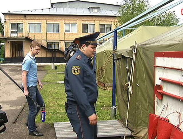 Проверка на пожарную безопасность в лагере