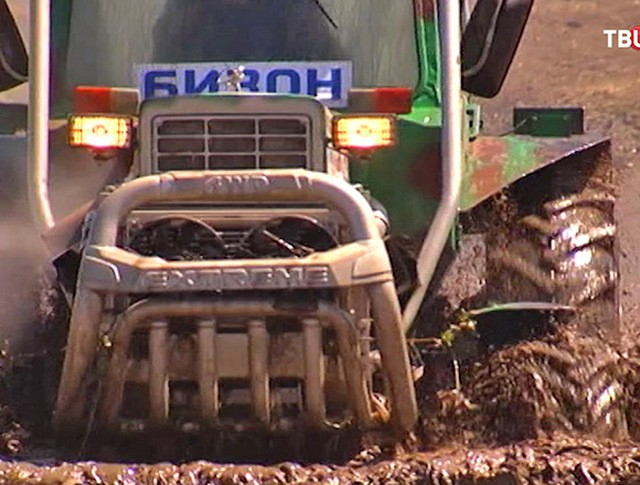 Всероссийские гонки на тракторах
