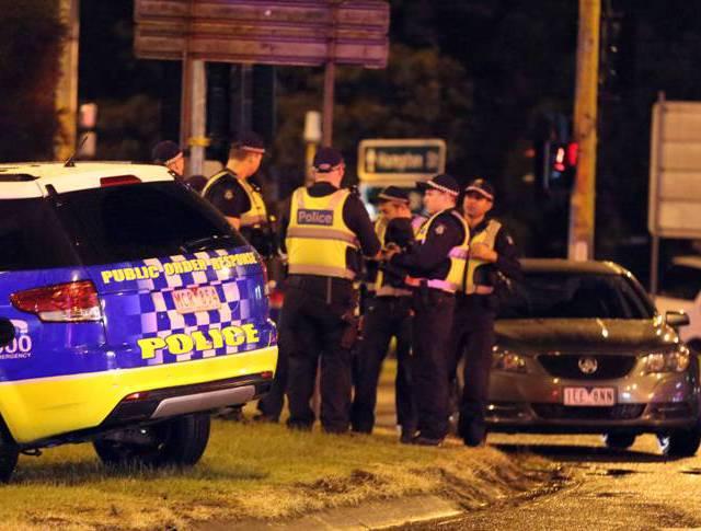 Полиция в Мельбурне