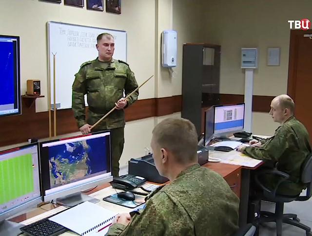 Работа радиолокационной станции (РЛС)