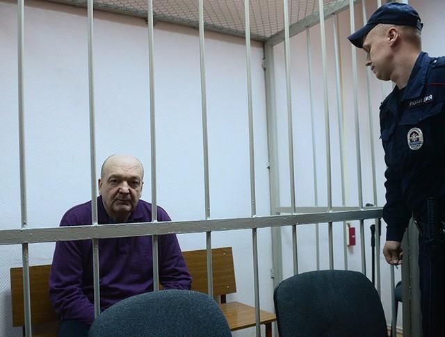 Александр Реймер в зале суда