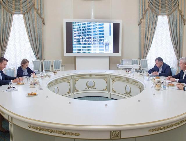 Встреча с представителем британского архитектурного бюро