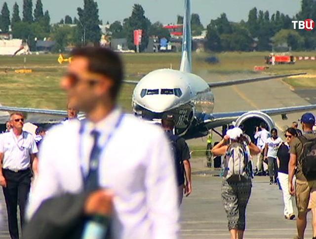 Международный авиасалон в Ле Бурже