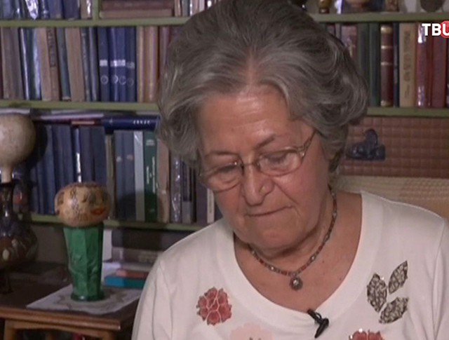 Писательница Лала Мискарян