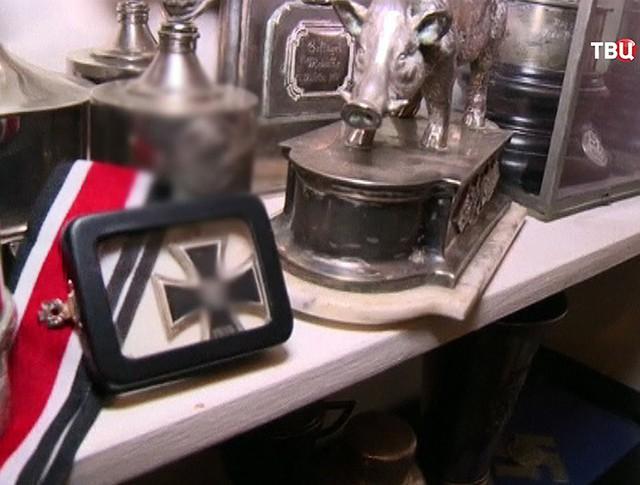 Найденные артефакты из тайной комнаты Третьего Рейха в Чили