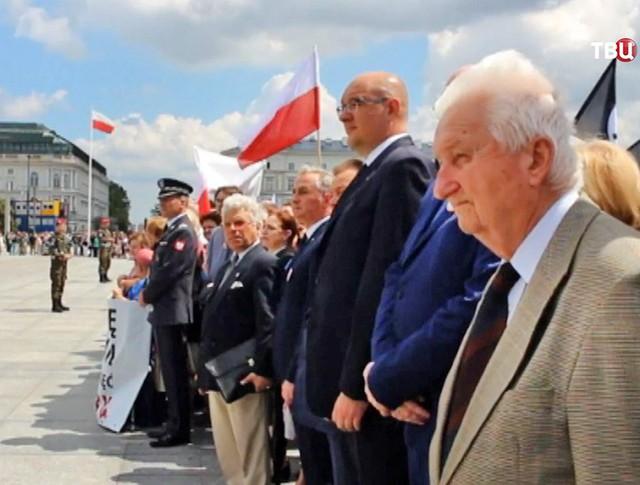Митинг по случаю годовщины Волынской резни