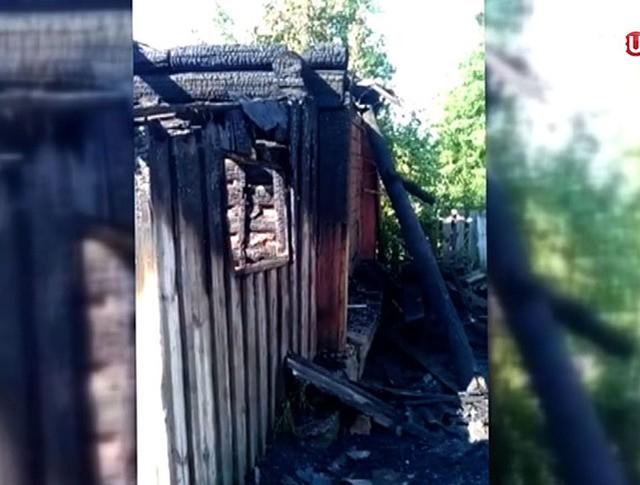 Последствия пожара в Алтайском крае