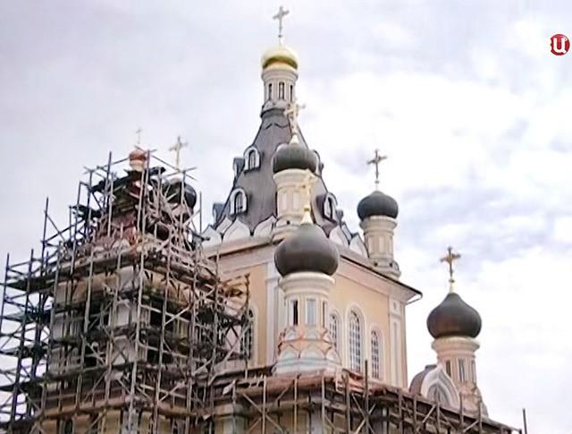 Строительство храма в честь Сретения Господня