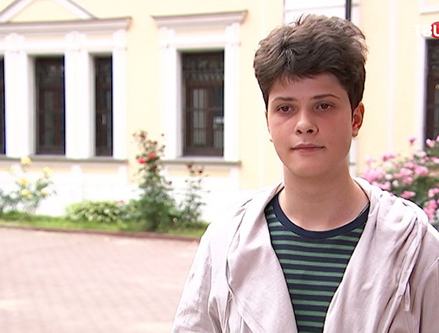 Московский школьник Александр Жигалин