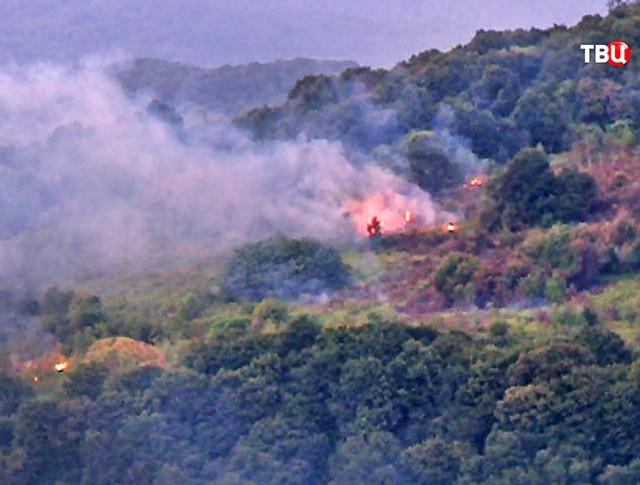 Взрыв на складе боеприпасов в Абхазии