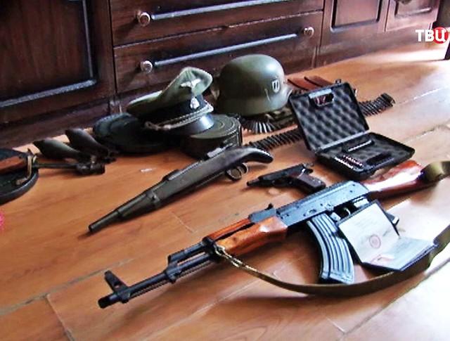 Изъятое оружие