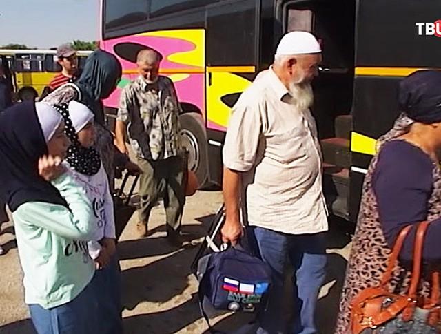 Группа крымчан отправляется в хадж
