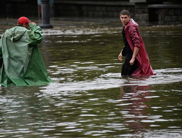 Потоп в Красноярске