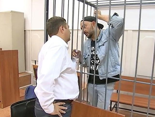 Кирилл Серебренников в зале суда