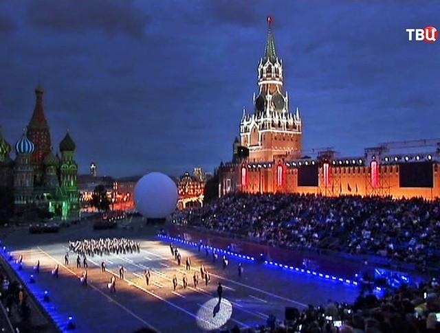 """Репетиция открытия фестиваля """"Спасская башня"""""""