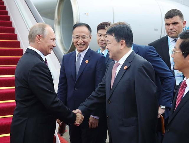 Визит президента Владимира Путина в Китай