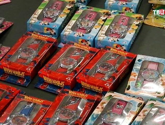 Контрабанда игрушек из Китая