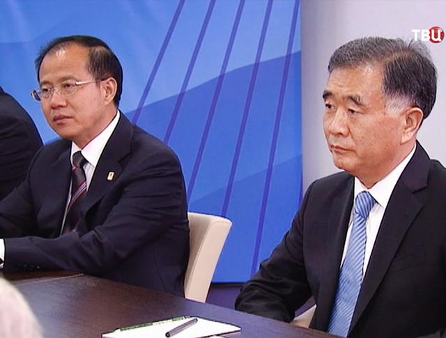 Вице-премьер Госсовета Китая Ван Ян