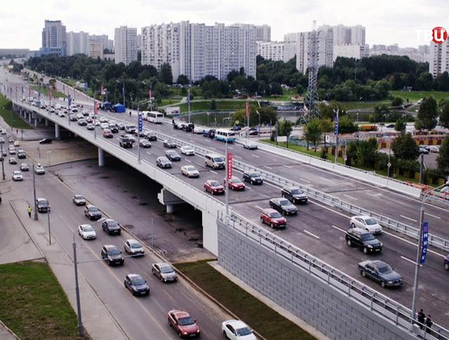 Эстакада на Варшавском шоссе
