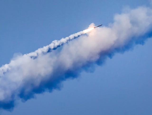 """Пуск ракеты """"Калибр"""""""